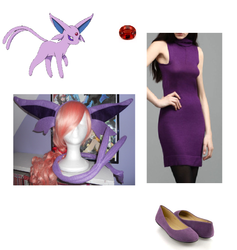 How to Cosplay Espeon by deathkokoro