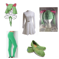 How to Cosplay Kirlia by deathkokoro
