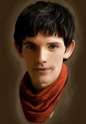 Merlin by cattyinlove