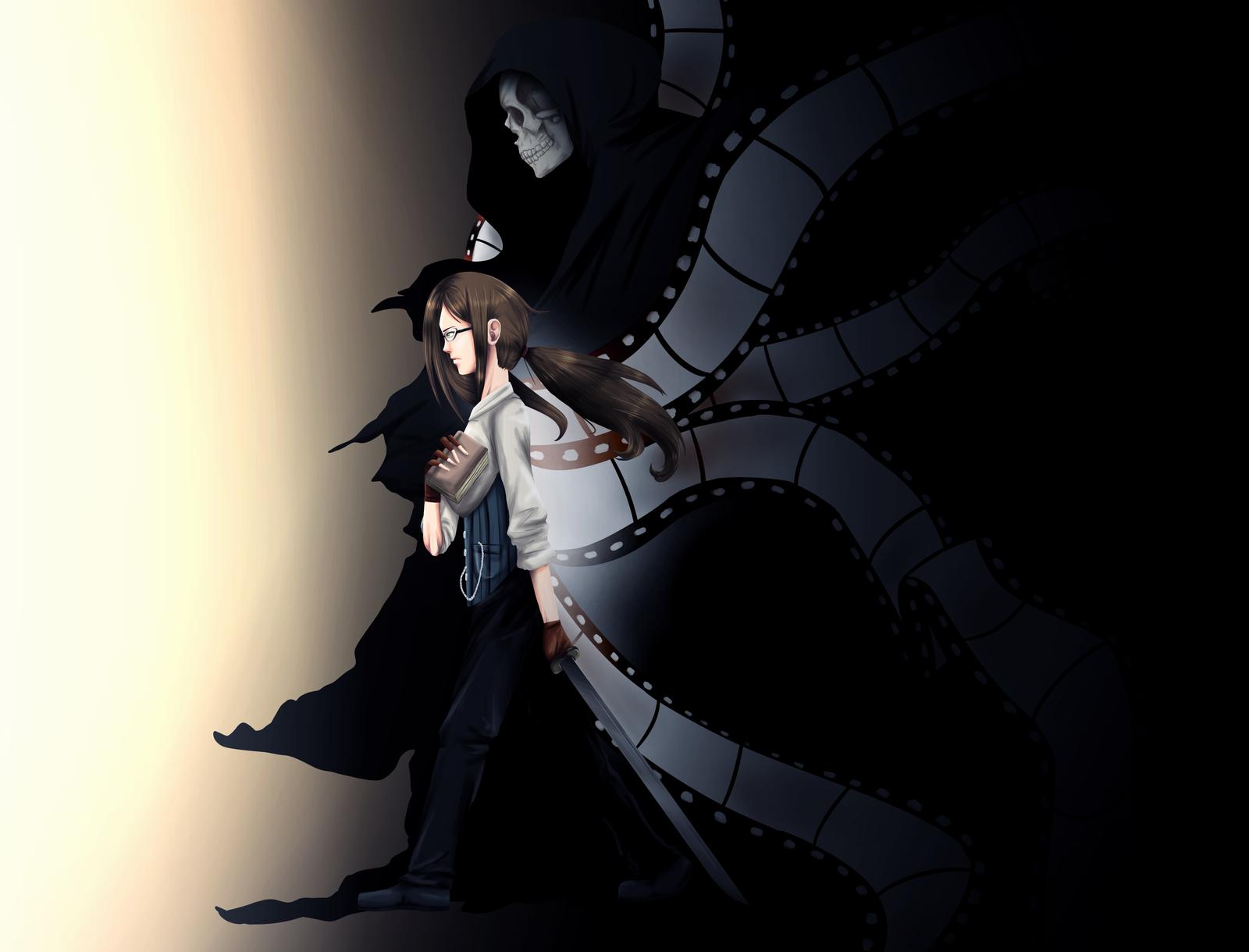 Black Butler OC - Grim... Cool Grim Reaper Drawings