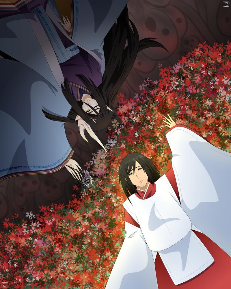 Izanami and Izanagi by DraketheOtaku