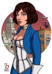Bioshock Infinite. Elizabeth Lady by RaphaelBarker