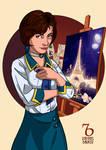 Bioshock Infinite. Elizabeth Student by RaphaelBarker