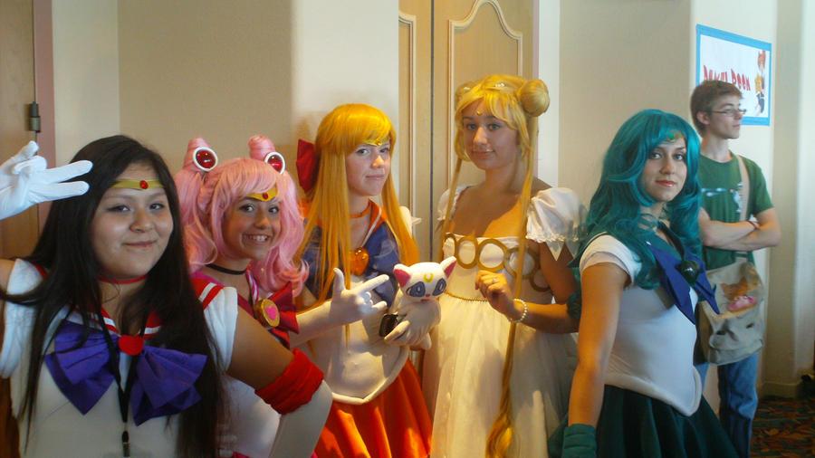 Sailor Moon Group by BlackRocketShooter