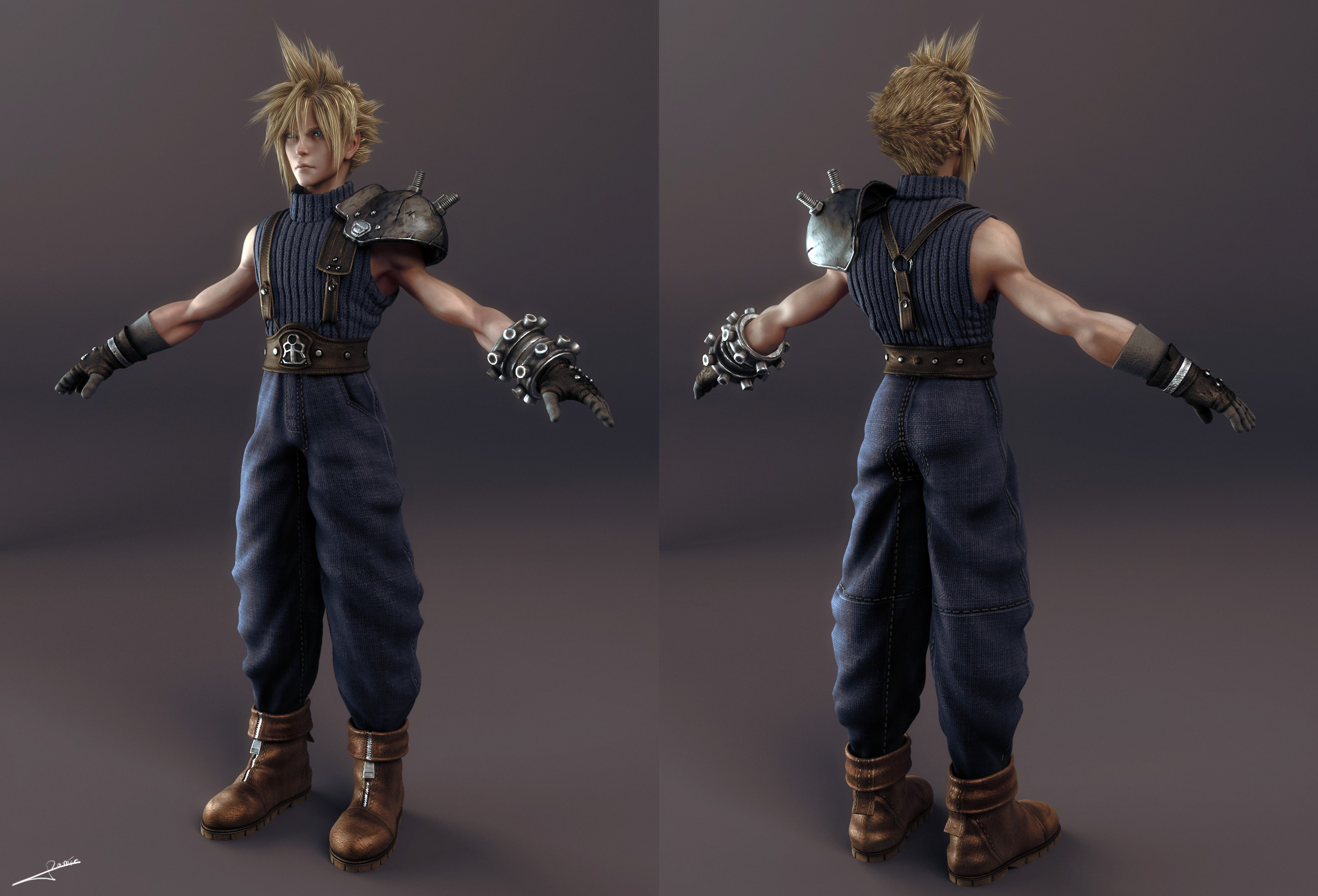 ff7 how to get cloud back