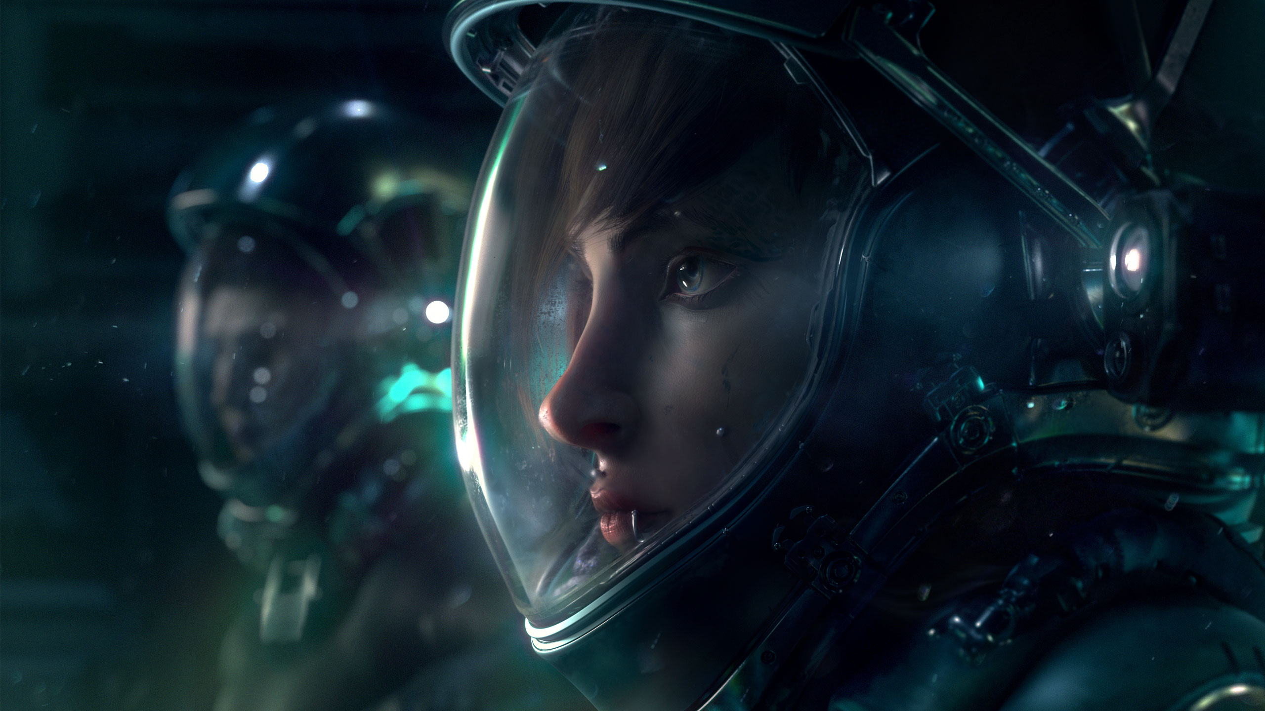 sci fi art - HD2560×1440