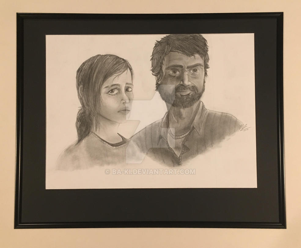 Joel and Ellie by Ba-Ki