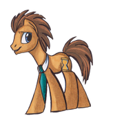 Dr. Whooves by LittleMissMoxxi