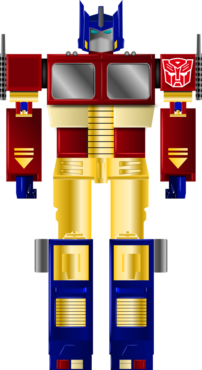 Optimus Prime G1 (Vector drawing) by aguatemala