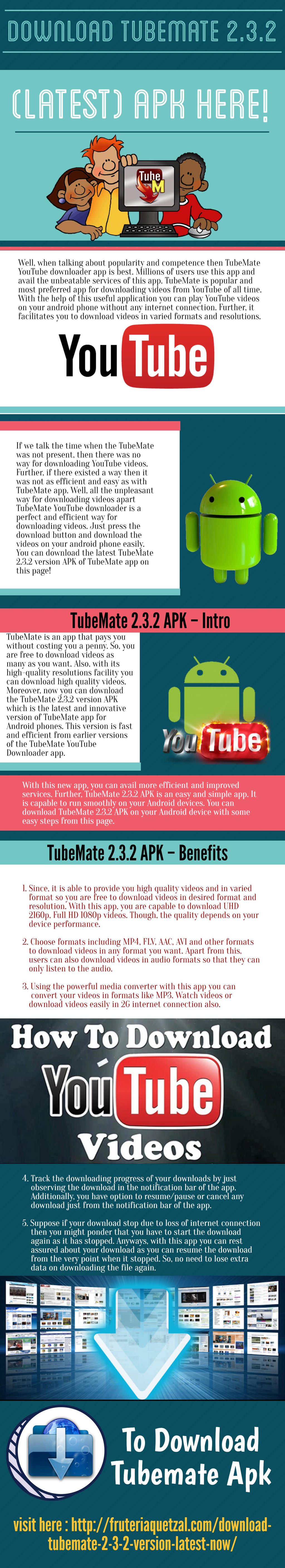 Download TubeMate 2 3 2 (latest) APK here by ernestwallace on DeviantArt
