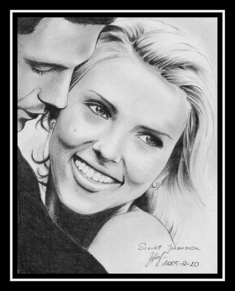 Scarlett Johansson by Femi