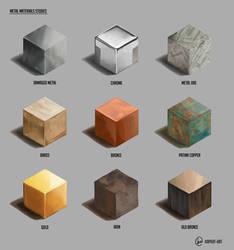 Metal Texture Studies