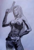 Marvel Vs. Capcom 3 - Trish by melissadallison