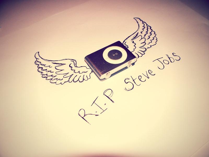 RIP Steve Jobs by melissadallison