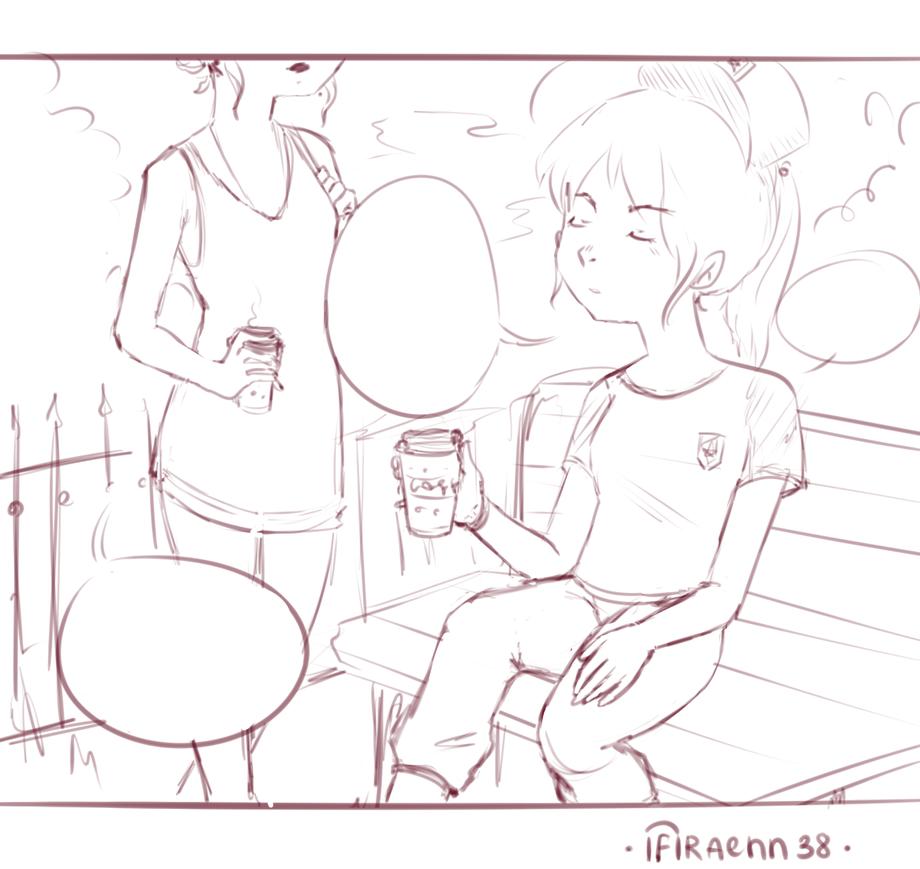 (WIP) One frame from my comics =w= by Ifiraen-Tasu-u