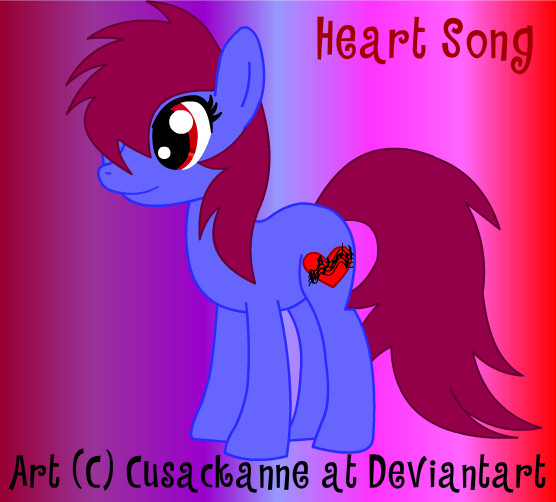 Heart Song Mlp_fim___heart_song_by_cusackanne-d3dresv