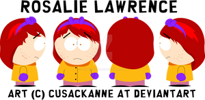 South Park OC - Rosalie Lawrence