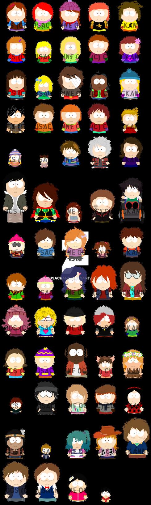 South Park - Side/Secondary OCs