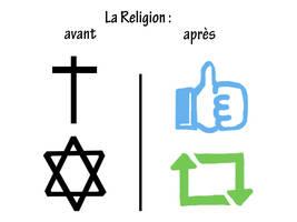 La Religion : avant/apres