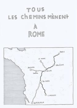 Tous les chemins menents a Rome - Couverture