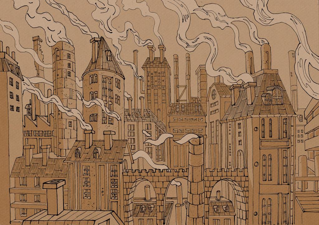 fireplacetown by mothmanhoax