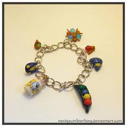 LOZ Charm Bracelet by Crazy8zCharmz