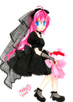 Pink Hair-Megurine Luka by MONO-Land