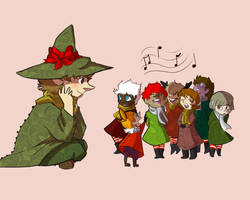 A Woodies' Christmas by Maamb