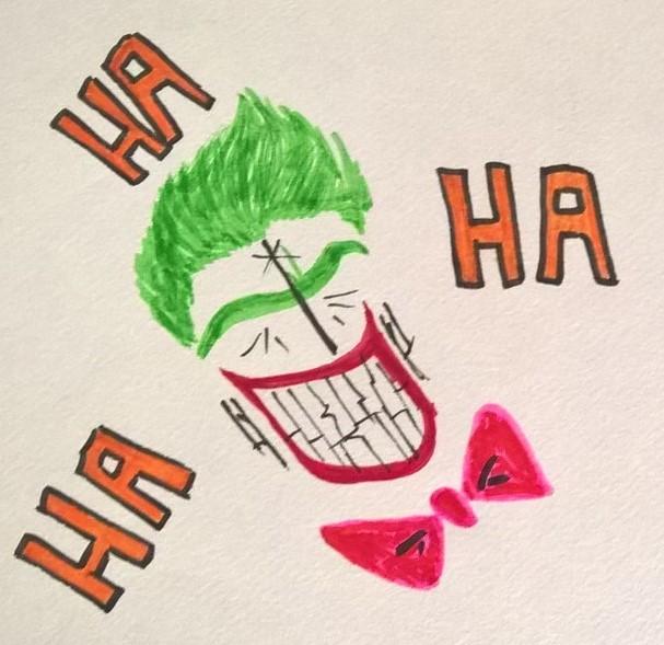Joker Scribble by Slentert