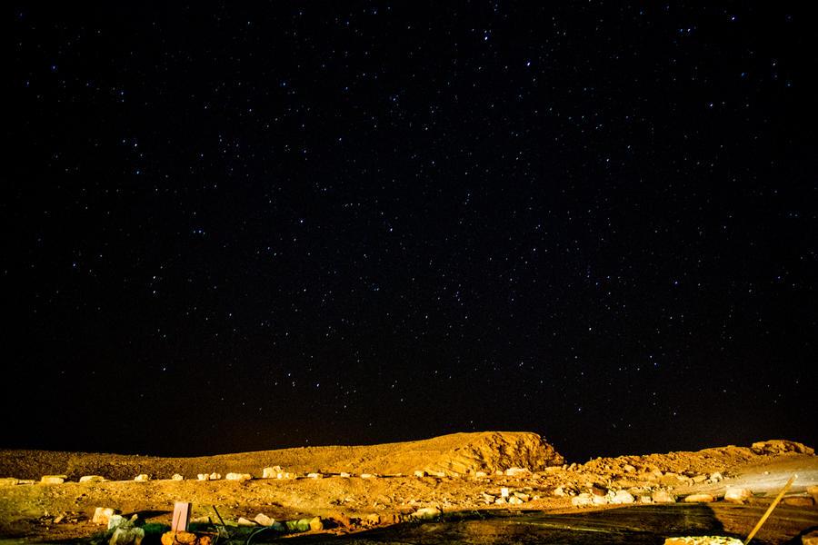Desert Sky by Delahkel