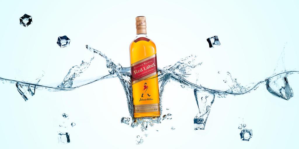 Johnnie Walker Red Label by Delahkel