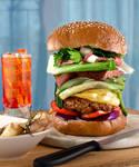 Burger by Delahkor