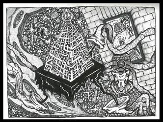 Ysza'ard , the lizard wizard by AndreiPascanu
