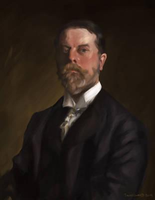 Study after Sargent's Auto-portrait