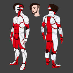 Red's Armored Suit Concept