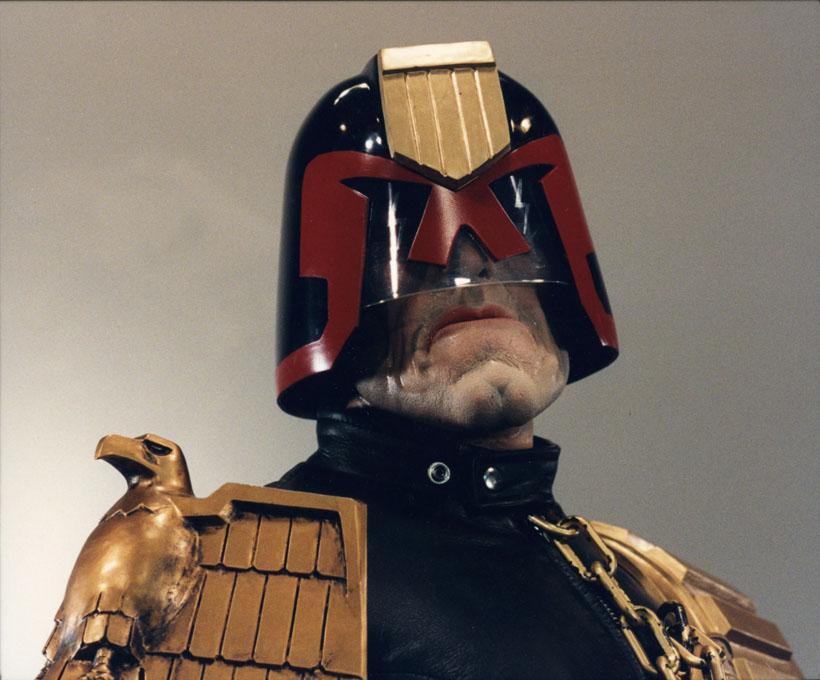 Judge Dredd by DaVinci41