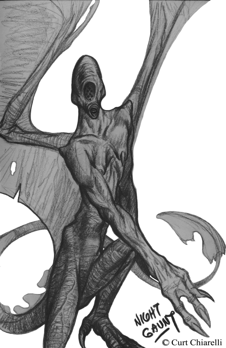Lovecraft Night Gaunts