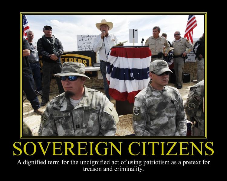 Sovereign Citizens Motivational Poster by DaVinci41