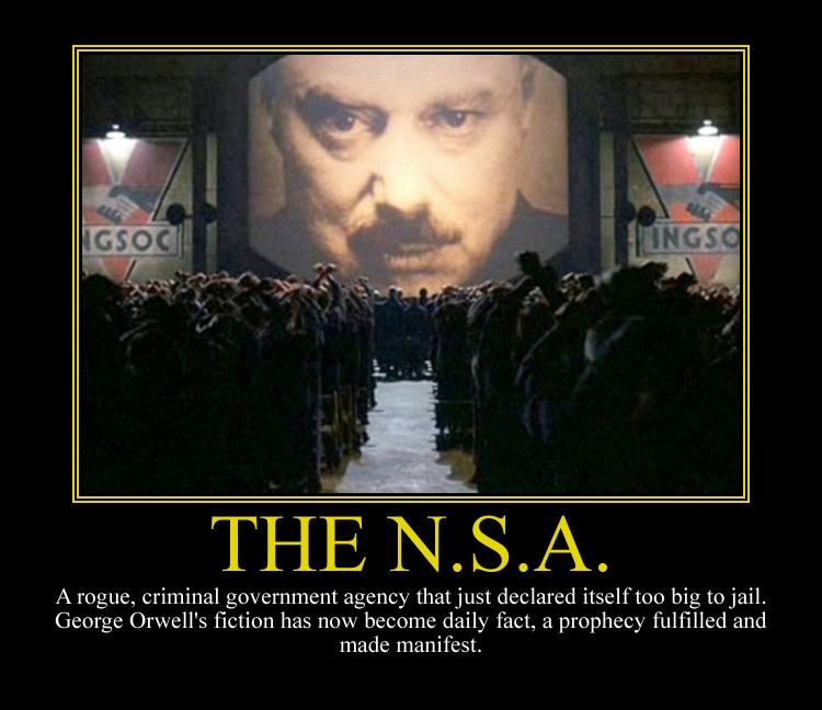 NSA Motivational Poster by DaVinci41