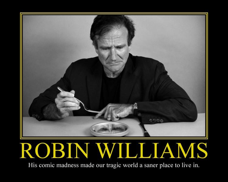 Robin Williams Motivational Poster by DaVinci41 on DeviantArt