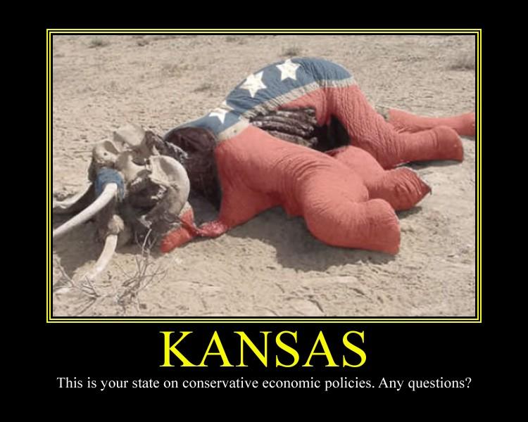 Kansas Motivational Poster by DaVinci41