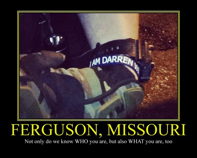 Ferguson, Missouri Motivational Poster by DaVinci41