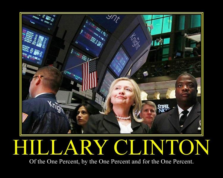 Hilary Clinton Motivational Poster by DaVinci41