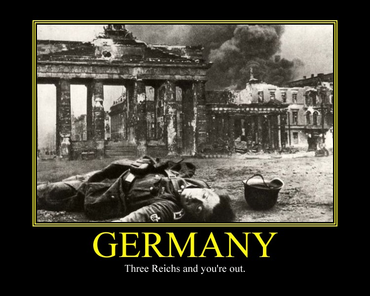 Germany Motivational Poster II by DaVinci41
