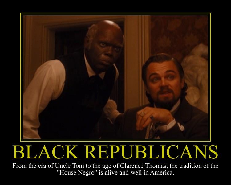 Black Republicans Motivational Poster by DaVinci41