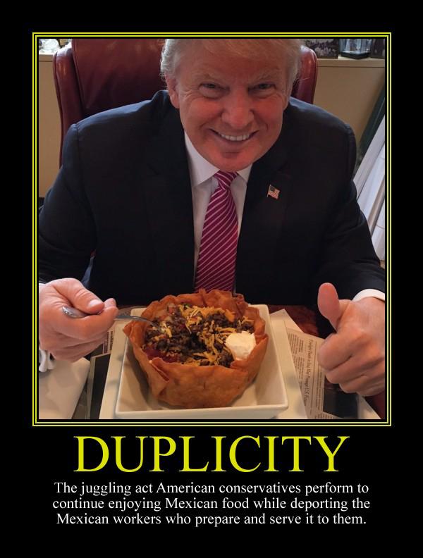 Duplicity Motivational Poster by DaVinci41