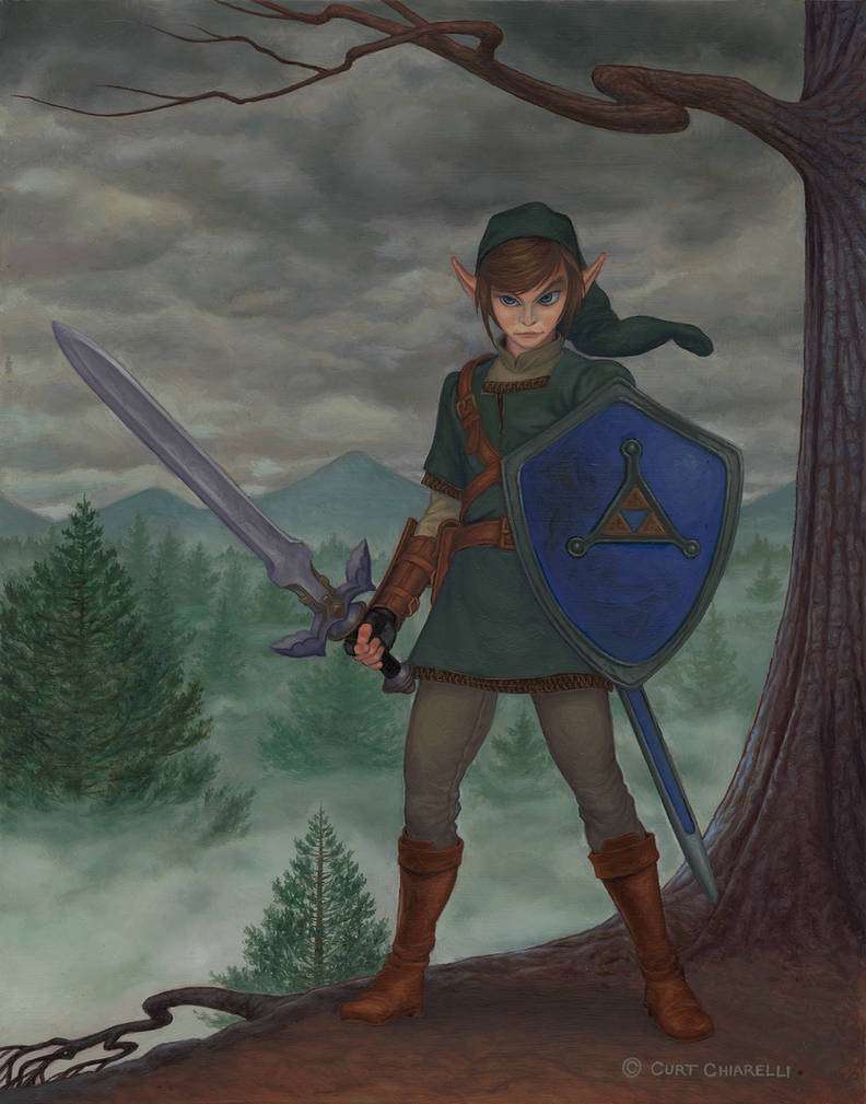 Link from The Legend of Zelda by DaVinci41