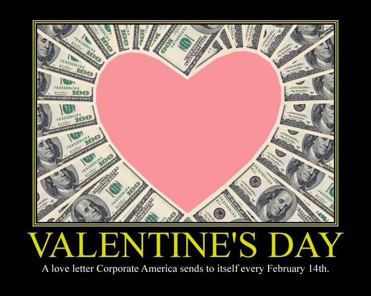 Valentine's Day Motivational Poster by DaVinci41