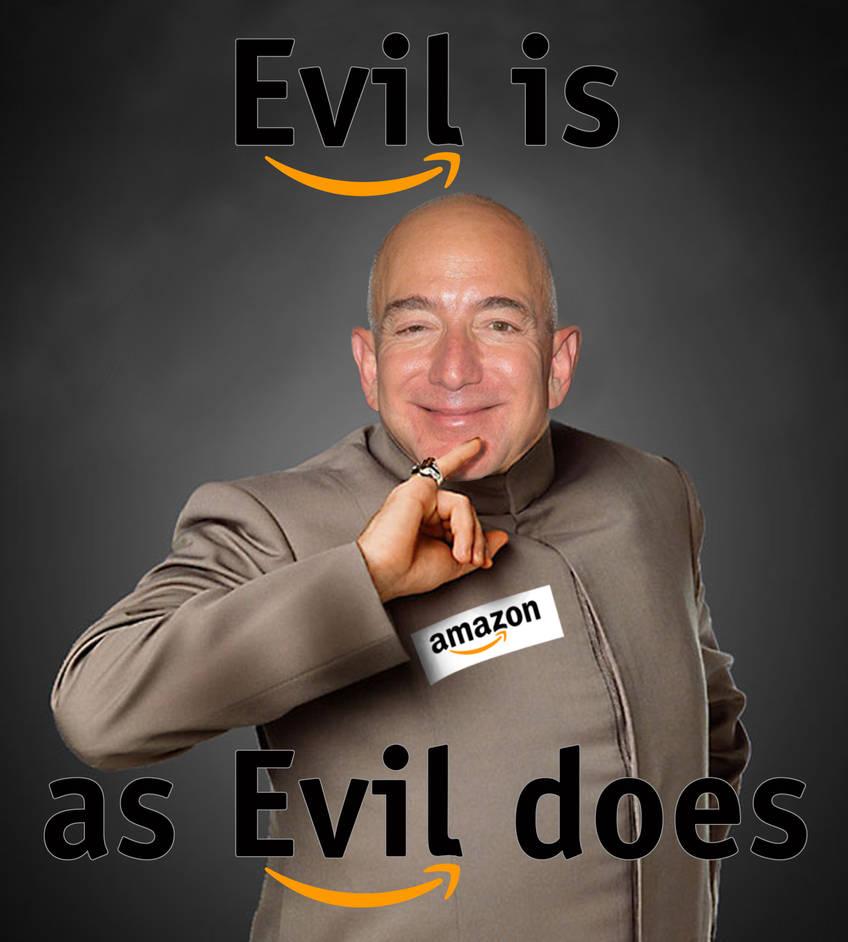 Jeff Bezos is Dr. Evil by DaVinci41