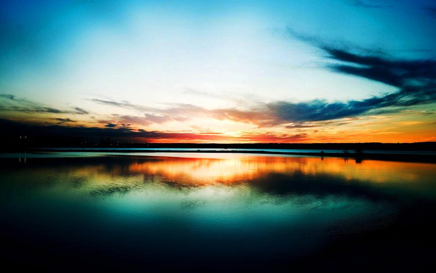 beautiful sky by kinit...